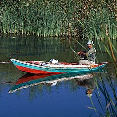 """фото """"The fisherman and the boat"""""""