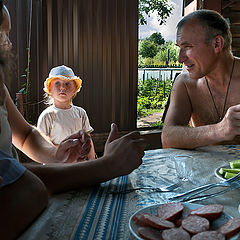 """фото """"Большие дядьки, решают большие проблемы."""""""