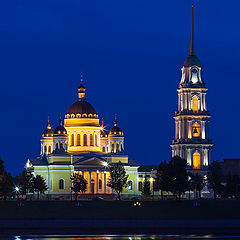 "photo ""Cathedral of the Transfiguration, in Rybinsk, Russia."""