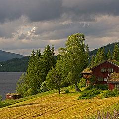 """фото """"Ах, как переменчива Норвежская погода"""""""