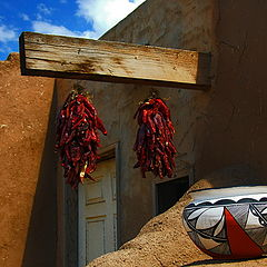 "photo ""Taos Pueblo"""