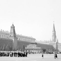 """фото """"Красная площадь в 50-ых."""""""