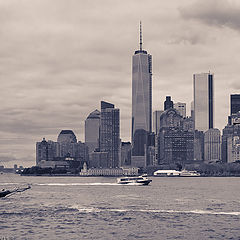 "фото ""New York harbor"""