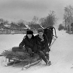 """фото """"Зимний путь."""""""