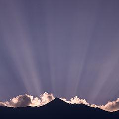 """фото """"Nepali sunset"""""""