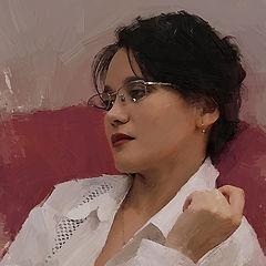 "фото ""Portrait of the wife"""