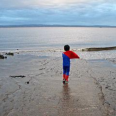 """photo """"Llittle superman"""""""