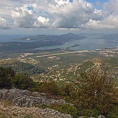 """photo """"View of the Bay of Tivat"""""""