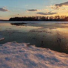 "фото ""Вечер перед ледоходом."""