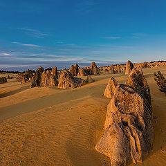 """фото """"Закат в пустыне"""""""
