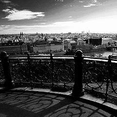 """фото """"Прага, перила и тени"""""""