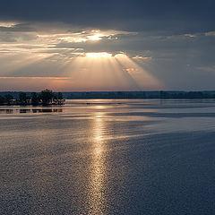 "photo ""evening on Volga"""