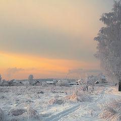 """фото """"Морозное сияние"""""""