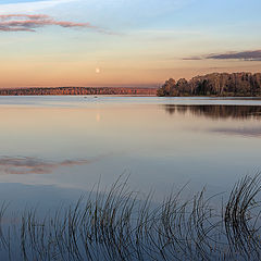 "photo ""October evening on the lake Senezh"""