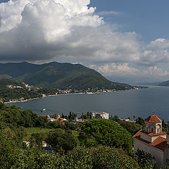 "photo ""View of the bay of Herceg Novi"""