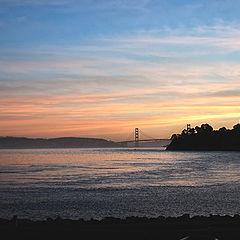 "photo ""Sunset on the bay"""