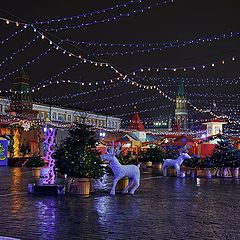 "photo ""Moscow New Year's"""
