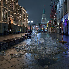 "photo ""Moscow New Year's  2"""