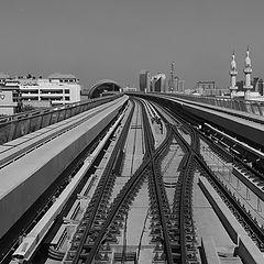 "photo ""Dubai Metro"""