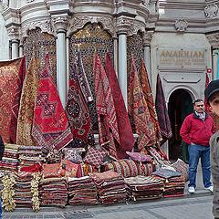 "photo ""Selling carpets"""