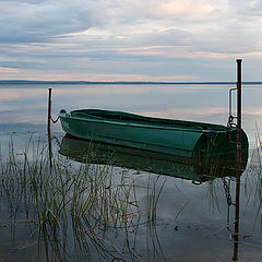 """фото """"Раннее утро на озере Неро"""""""