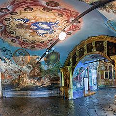 "фото ""Углич. Церковь Димитрия на крови. 1693 год  (панорама)"""