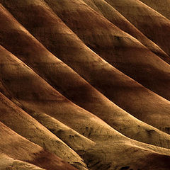 """photo """"Painted Hills repetition"""""""