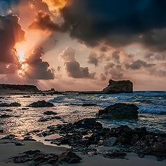 "фото ""Water and rocks"""
