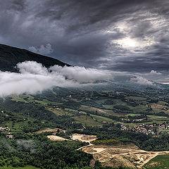 "фото ""Вид с крепости Civitella del Tronto"""