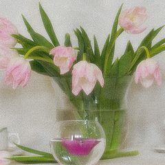 """фото """"С тюльпанами"""""""