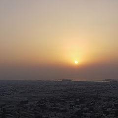 "photo ""dubai sunset"""
