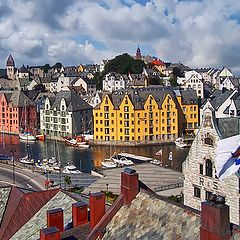 "photo ""Norway. Aalesund"""