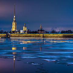 """фото """"Крепость, первый лед"""""""