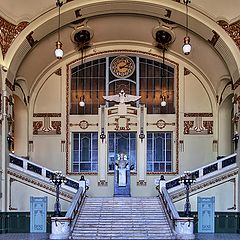 "photo ""St. Petersburg. Vitebsky railway station"""