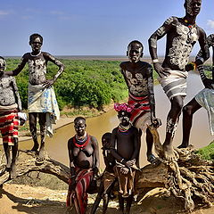 "photo ""Karo people tribe - Omo Valley"""