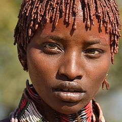 "photo ""Hamer people tribe"""