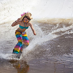 "photo ""Water Sliding Fest 2013 in Shaksha"""