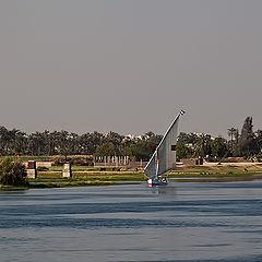 """photo """"Sailing on the Nile"""""""