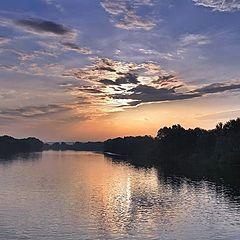 "photo ""at sunset"""