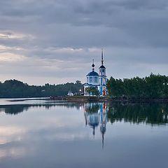 "photo ""Church ashore"""