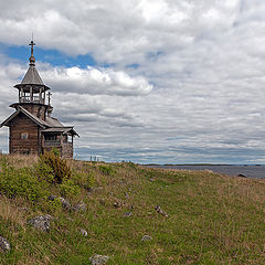 "photo ""Kizhi. Chapel of Our Saviour"""