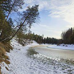 """фото """"На реке весной"""""""