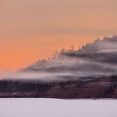 """фото """"Необычный мартовский рассвет на реке Ия..."""""""