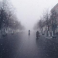 """фото """"Метель в конце марта"""""""