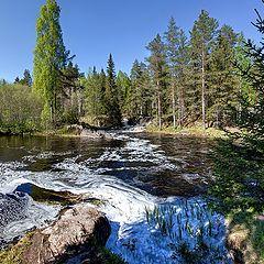 "photo ""Karelia. Flat falls"""