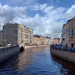 "photo ""St. Petersburg. river Moika"""