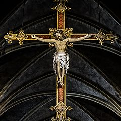 "photo ""Iesus Nazarenus Rex Iudaeorum"""