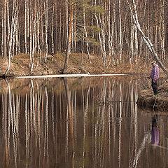 """фото """"Весенняя рыбалка"""""""