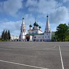 "photo ""Yaroslavl. Church of Elijah the Prophet. 16th century"""