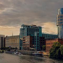 """фото """"Берлин, река Шпрее.."""""""